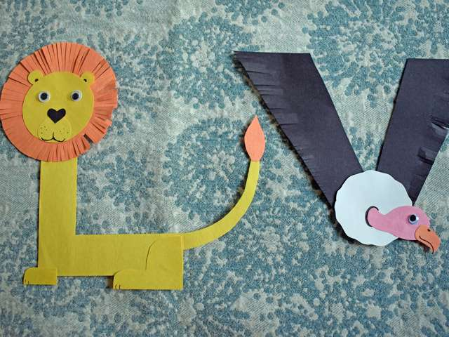 lion and vulture craft